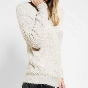 Urban Outfitters By Corpus Fuzzy Popcorn Sweater